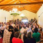 Εγκαίνια του Ιερού Ναού της Ζωοδόχου Πηγής στη Χρυσαυγής Λαγκαδά