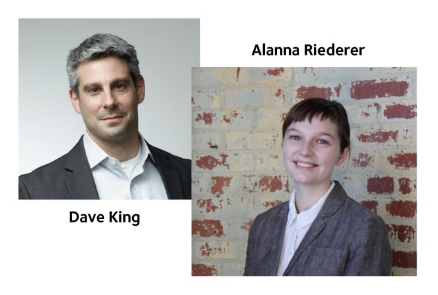 Exaptive CEO Dave King and Developer / Data Scientist Alanna Riederer