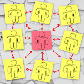 Sticky Note Team