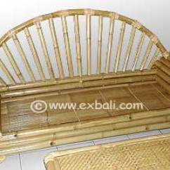Bamboo Couch And Chairs Diy Wood Chair Designs Bali Lounge Furniture Decor Export