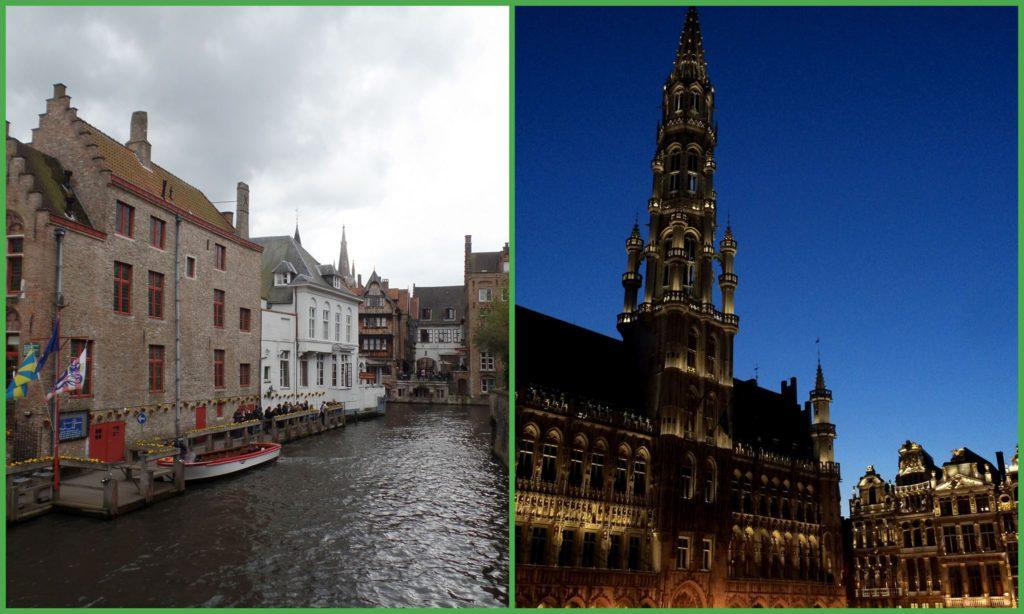 Bruges e Bruxelles