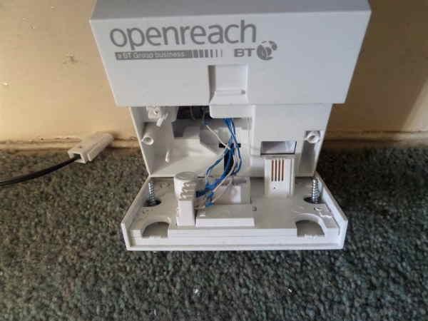 Openreach Nte5 Master Socket Wiring