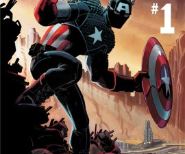 Captain America #1 Marvel Now