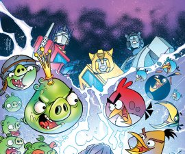 Angry Birds/Transformers #1 from IDW Comics