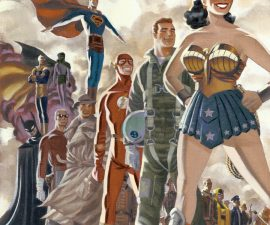 DC: The New Frontier Deluxe Edition HC from DC Comics!