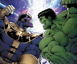 Thanos Vs. Hulk #1 from Marvel Comics