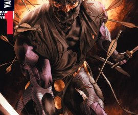Ninjak #1 from Valiant Comics