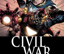 Civil War #1 from Marvel Comics