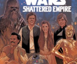 Journey to Star Wars: The Force Awakens - Shattered Empire #1 from Marvel Comics!