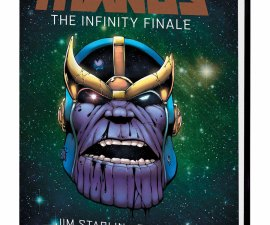 Thanos: The Infinity Finale OGN HC from Marvel Comics