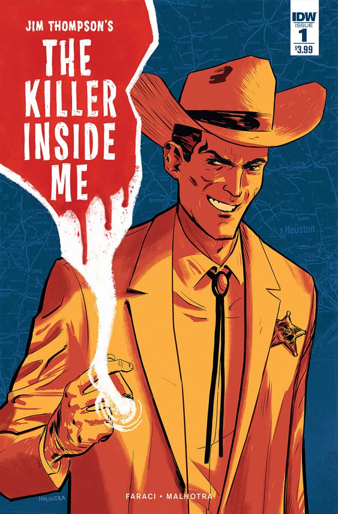 Jim Thompson's The Killer Inside Me #1 from IDW Comics