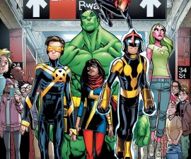 Champions #1 from Marvel Comics