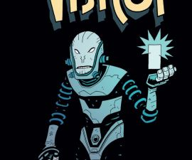 The Visitor: How and Why He Stayed #1 from Dark Horse Comics