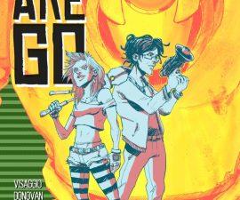 Quantum Teens Are Go from Black Mask Comics