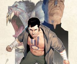 Brutal Nature: Concrete Fury #1 from IDW Comics