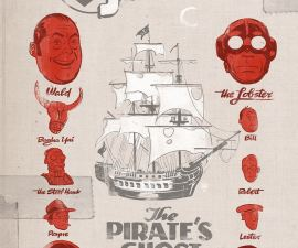Lobster Johnson: The Pirate's Ghost #1 from Dark Horse Comics