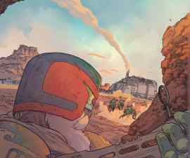 Judge Dredd: Blessed Earth #1 from IDW Comics