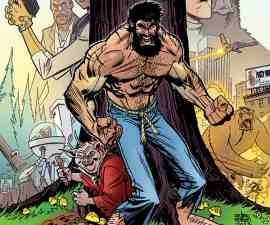Shirtless Bear-Fighter #1 from Image Comics