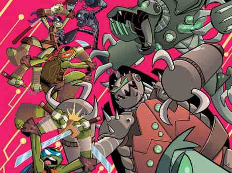 TMNT Amazing Adventures: Robotanimals! #1 from IDW Comics