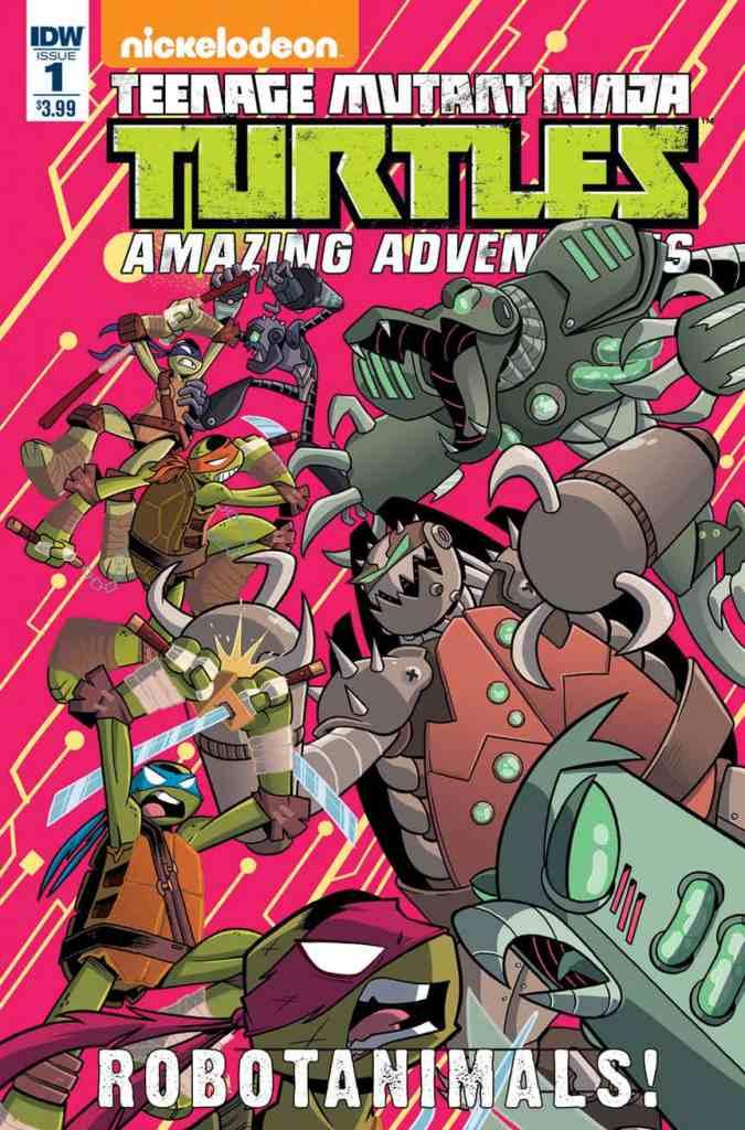 TMNT Amazing Adventures: Robotanimals! #1 from IDW Comics