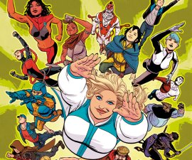 Faith And The Future Force #1 from Valiant Comics