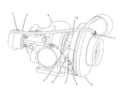 177-0440 Turbocharger Applied To CAT 322C 324D 325C 325D