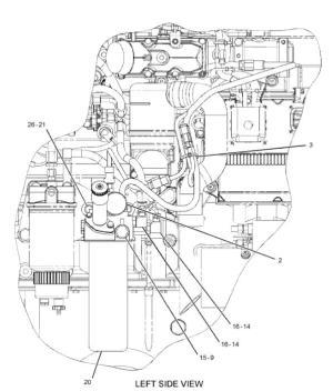 C7 C9 C11 C13 C15 3126B Engine Fuel Filter 1R0762 Applied To Caterpillar CAT 322C 324D 140H 160K