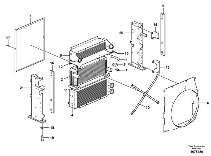 VOE14549880 VOE14661155 VOE14549879 Excavator Engine Parts
