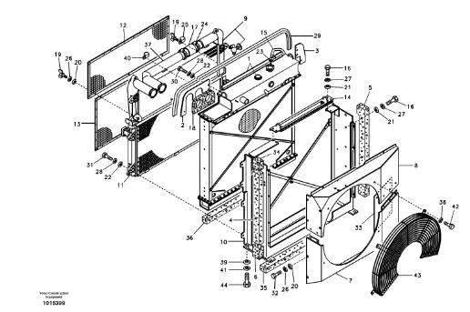 VOE14514357 VOE14508728 VOE14517258 Engine Oil Cooler For
