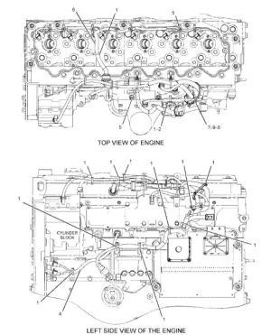1982713 Caterpillar Excavator Parts C7 Engine Wiring