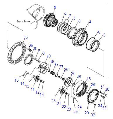 207-27-00260 207-27-00371 PC300-7 PC340-7 PC350-7 PC360-7