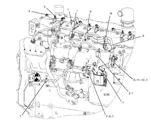 E325D 325D 329D Caterpillar Excavator Parts 381-2499 C7