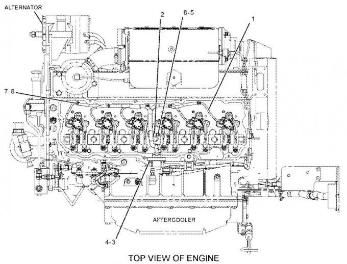 Caterpillar 3208 Sel Wiring Diagram v8 engine block