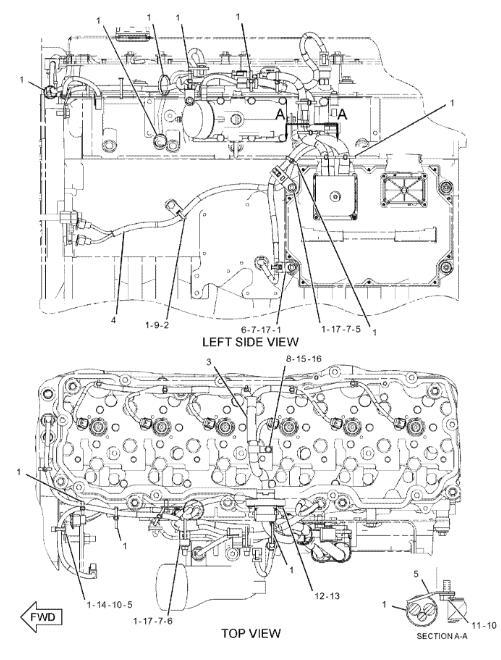 E336D 330D 336D Caterpillar Excavator Parts 235-8202 C9