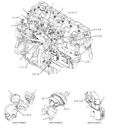 E336D 330D 336D Caterpillar Excavator Parts 323-9140 C9
