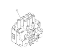 4398652 4448461 Hitachi ZX200 ZX200-3G Excavator Main