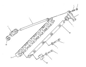 Cat 330D 304-5260 Tappet Valve Excavator Engine Parts