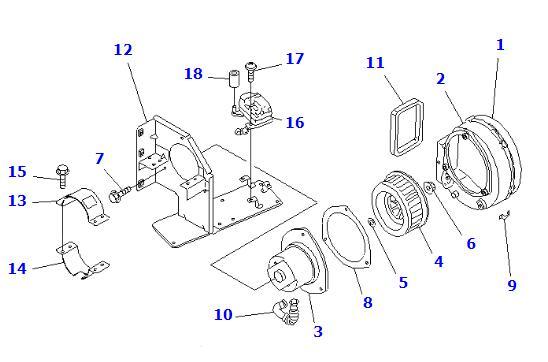 ND292500-0650 ND2925000650 Fan Blower Motor Assembly For