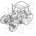 New Holland Boomer 30 35 Tractor Parts Manual Catalog