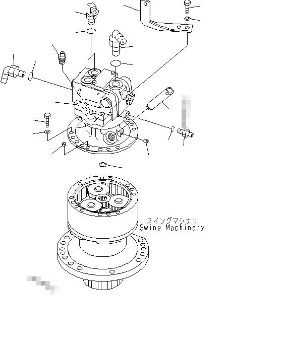 Excavator PC128US-1 PC128US-2 PC128USI-10 PC128UU-1