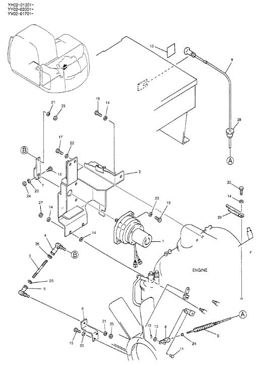 Kobelco Excavator Spare Parts SK200-6E SK135SR