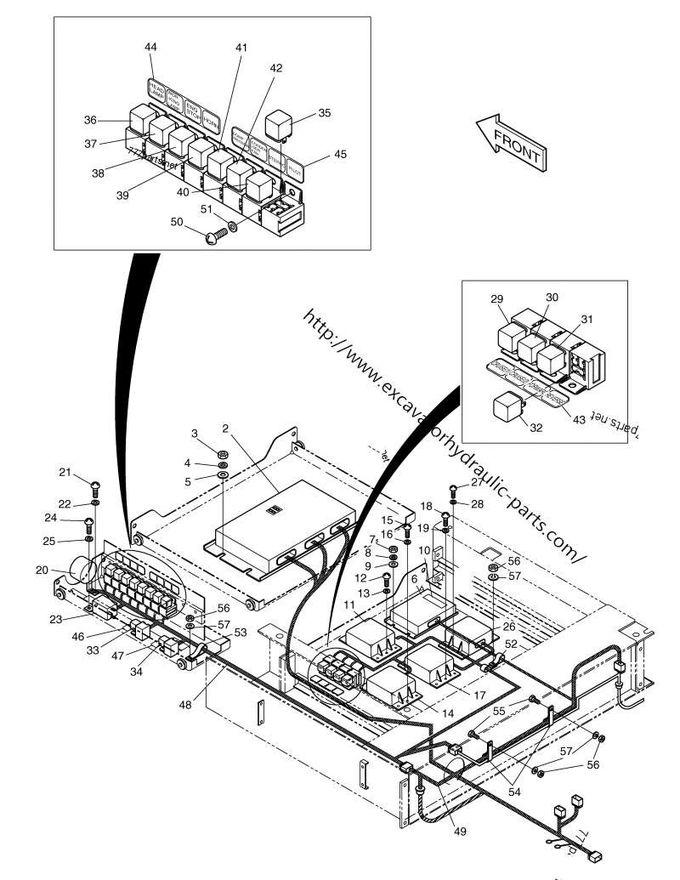 S225-V Stick Panel 300611-00123 543-00074 Motor Throttle