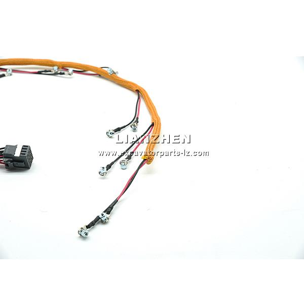 China Caterpillar 320D excavator Injector wiring harness