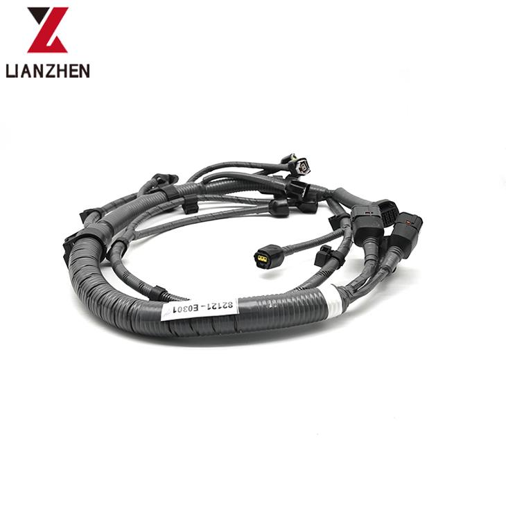 China VH82121-E0301 engine wire harness for Kobelco SK300