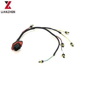 China C9 Engine Excavator Injector Wire Harness For CAT