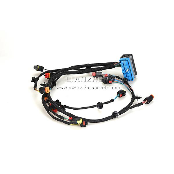 China Excavator engine wiring harness for CAT E323D
