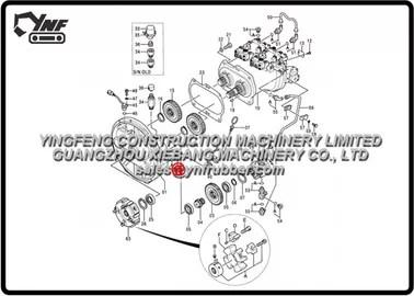 Hitachi Excavator Spare Parts EX200-5 EX200-5 200LC-5 210H