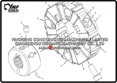 Excavator Caterpillar 330D 330D & 330D L EAH00001- UP