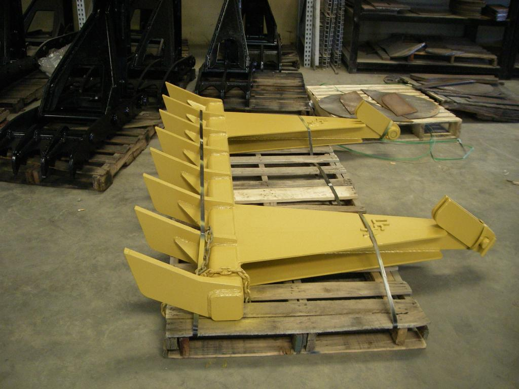 hight resolution of dozer rake