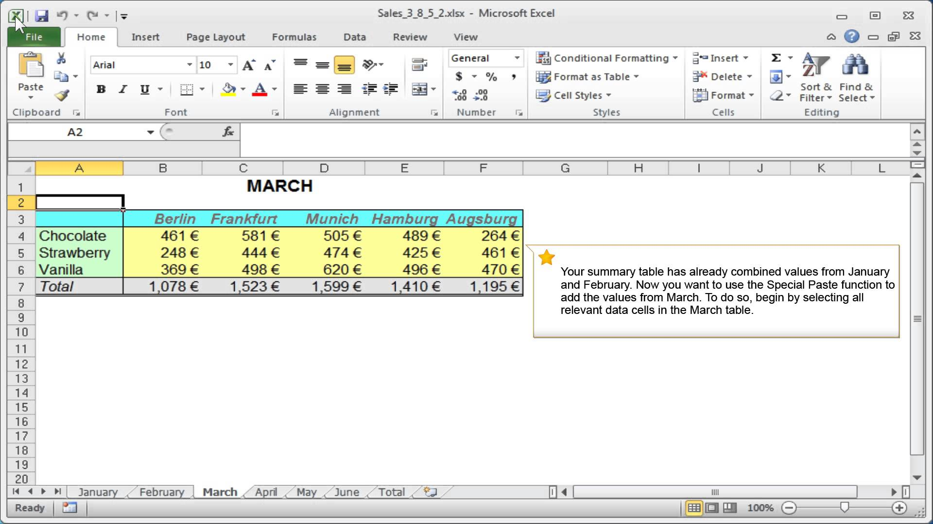 Excel Additon Combining Data